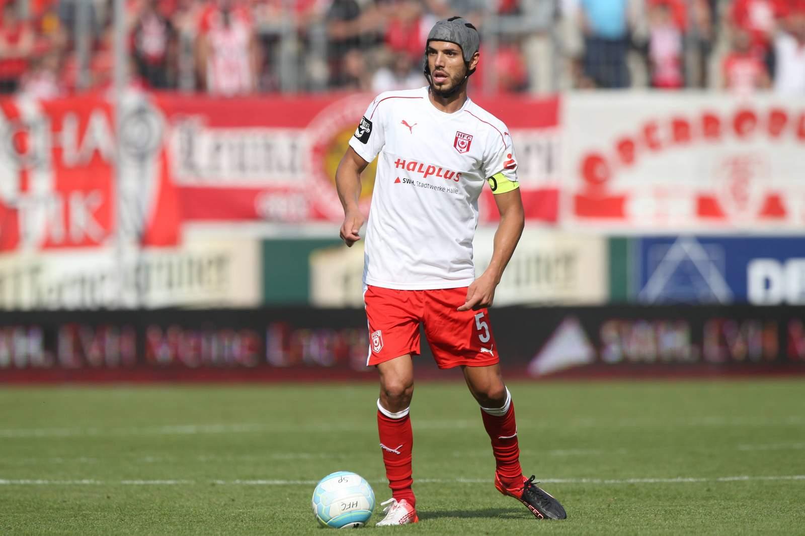 Klaus Gjasula vom Halleschen FC