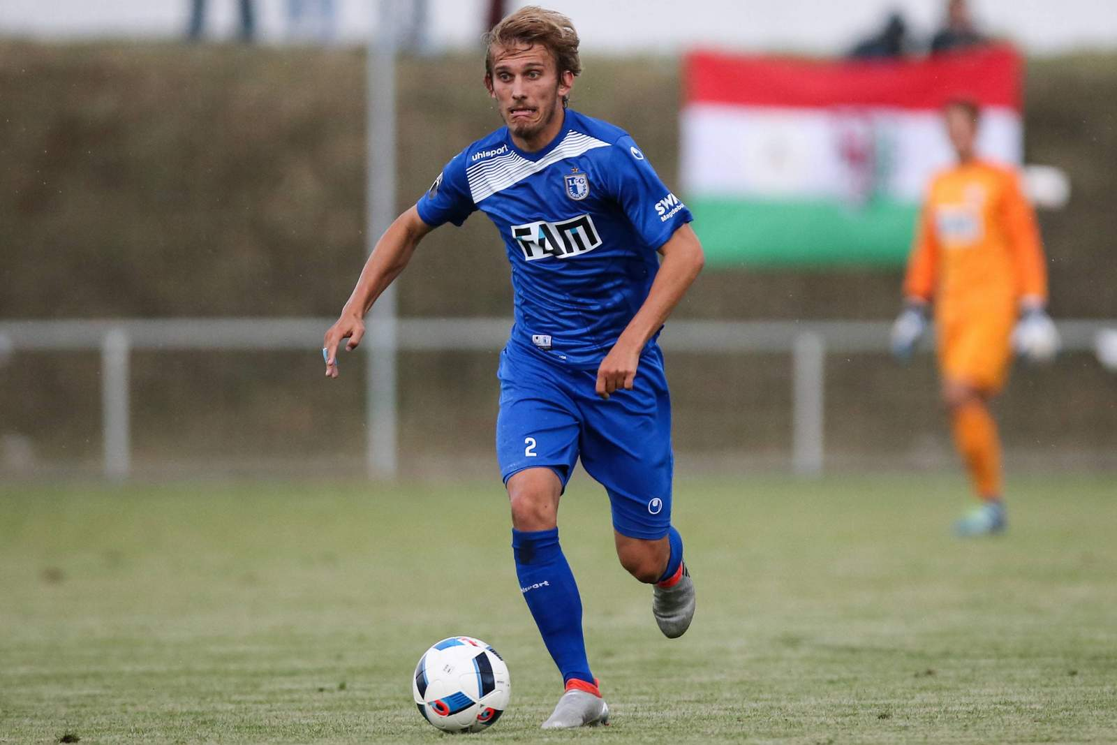 Lukas Novy vom 1.FC Magdeburg