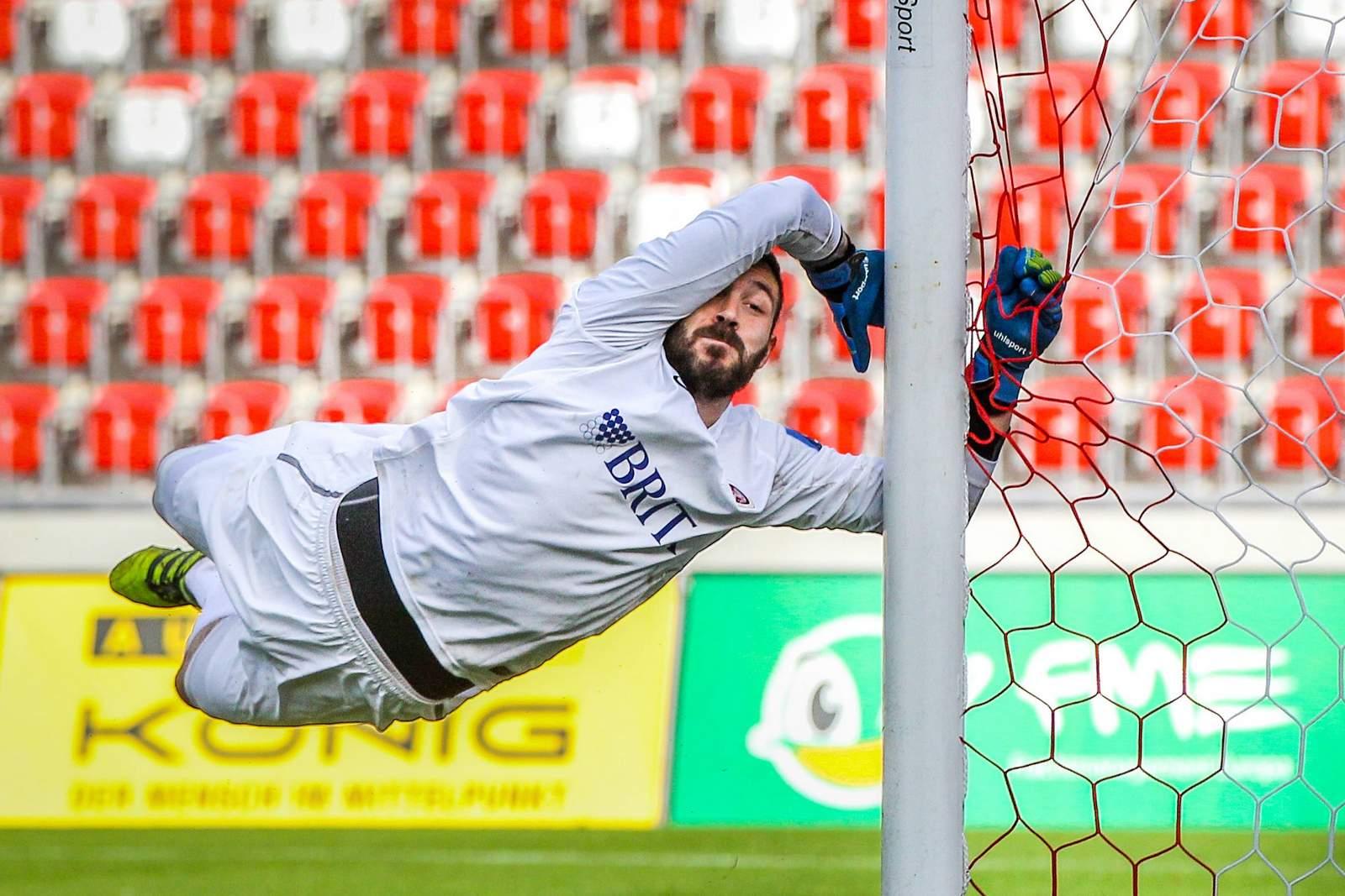 Markus Kolke vom SV Wehen-Wiesbaden