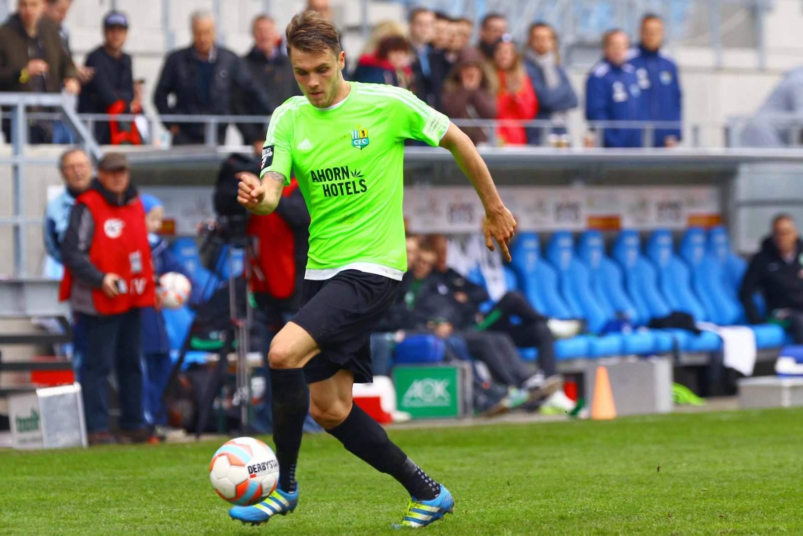 Nils Röseler vom Chemnitzer FC