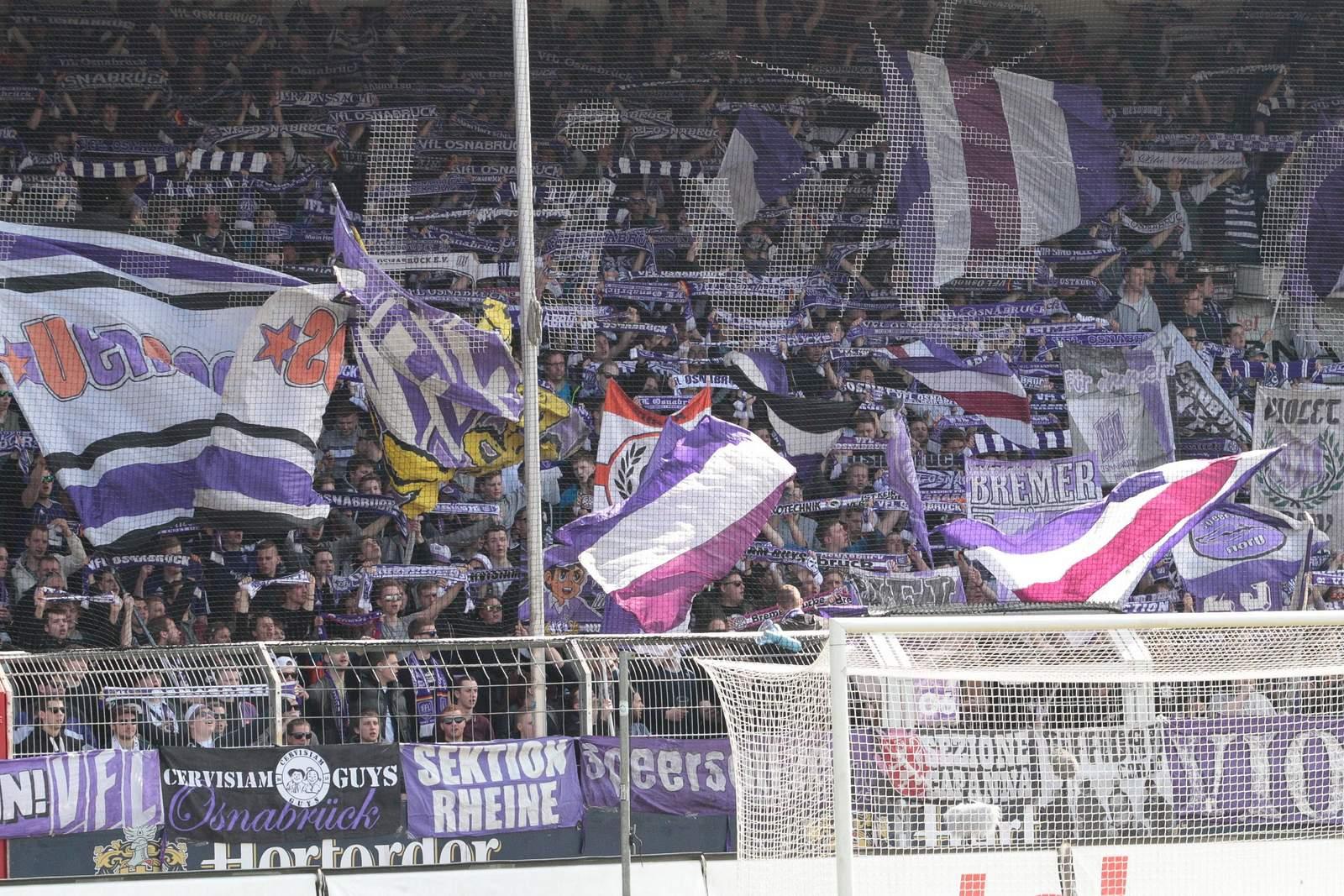 Fans des VfL Osnabrück.