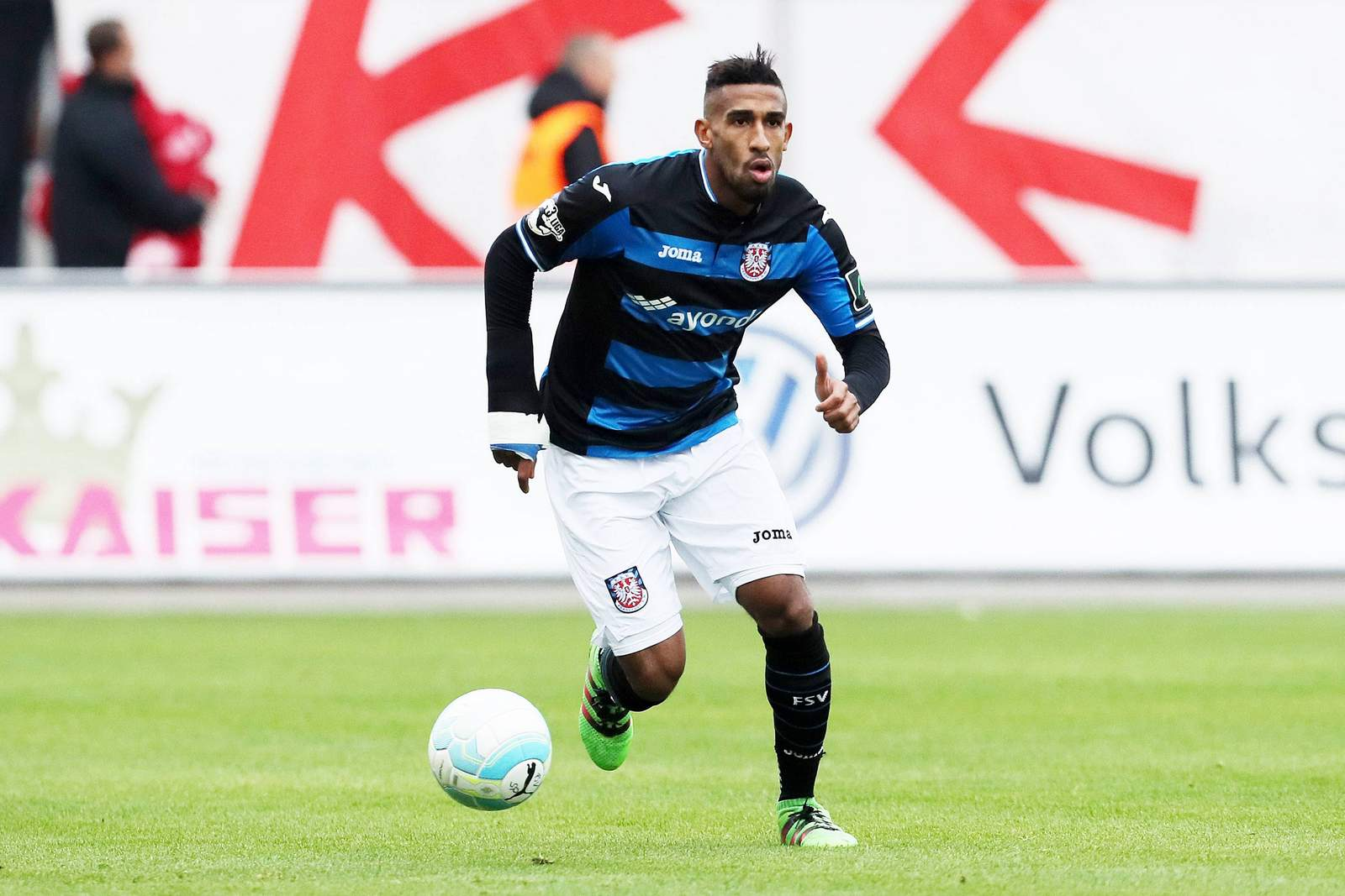 Shawn Barry vom FSV Frankfurt