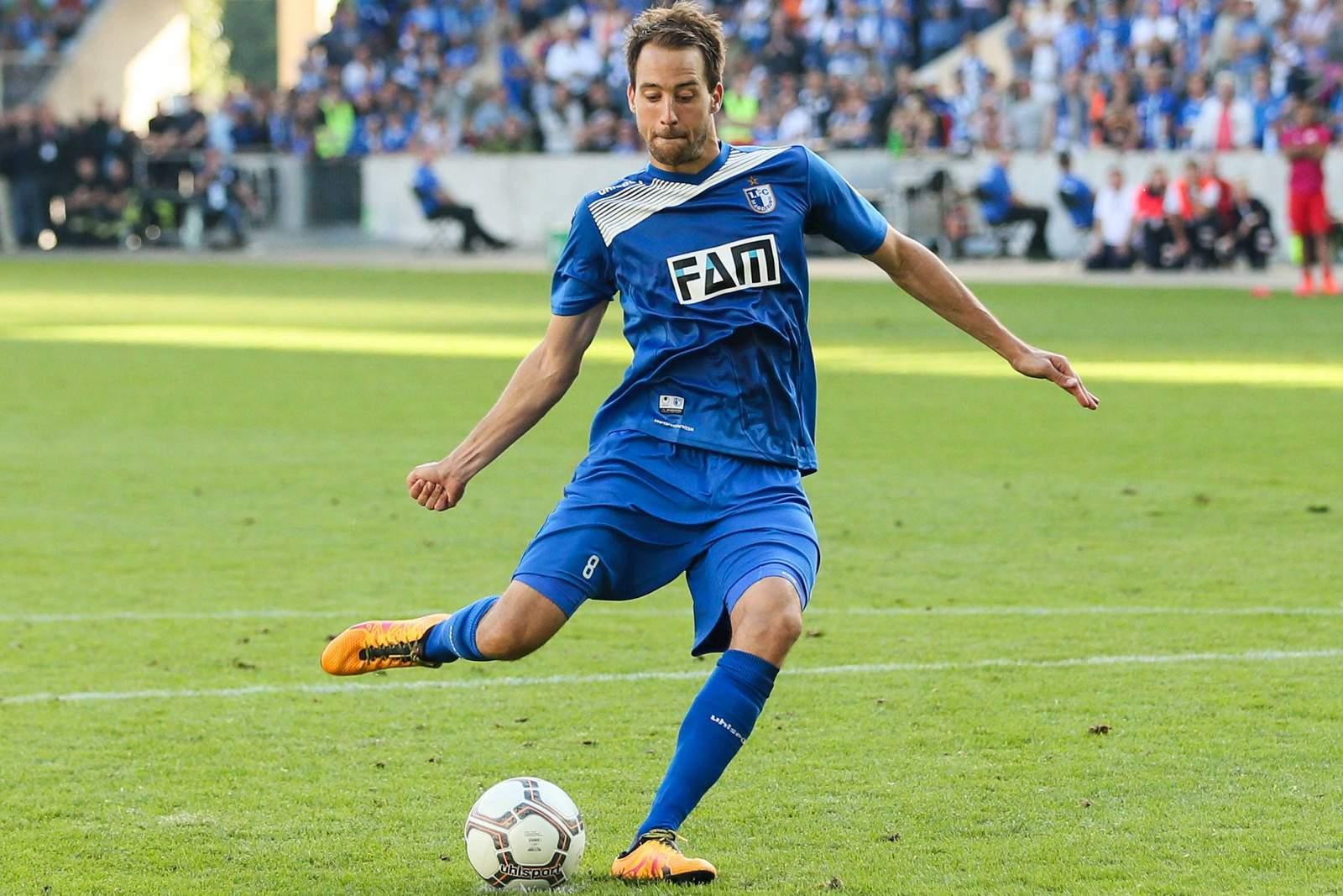 Steffen Puttkammer vom 1.FC Magdeburg