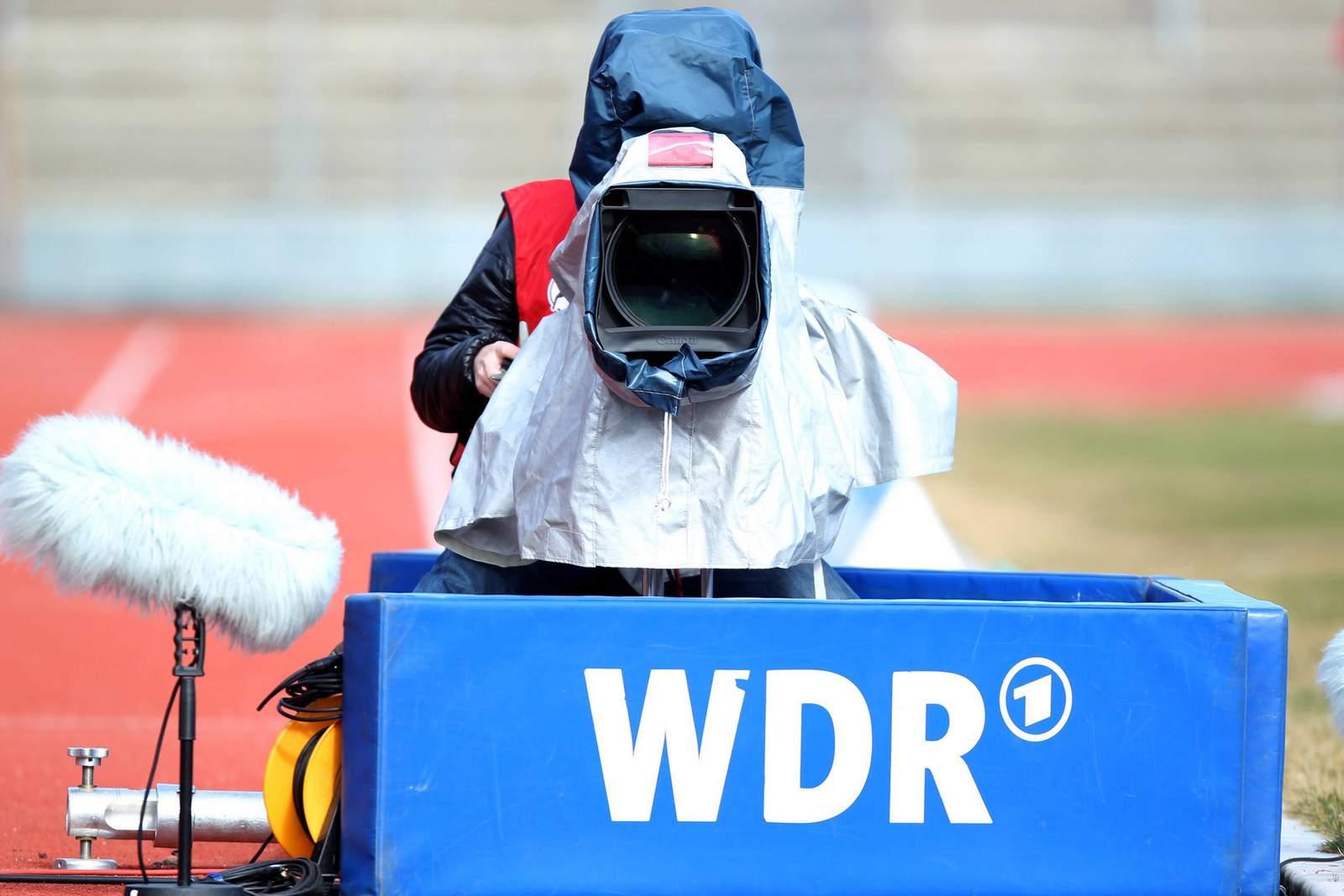 Kameramann vom WDR in der 3. Liga