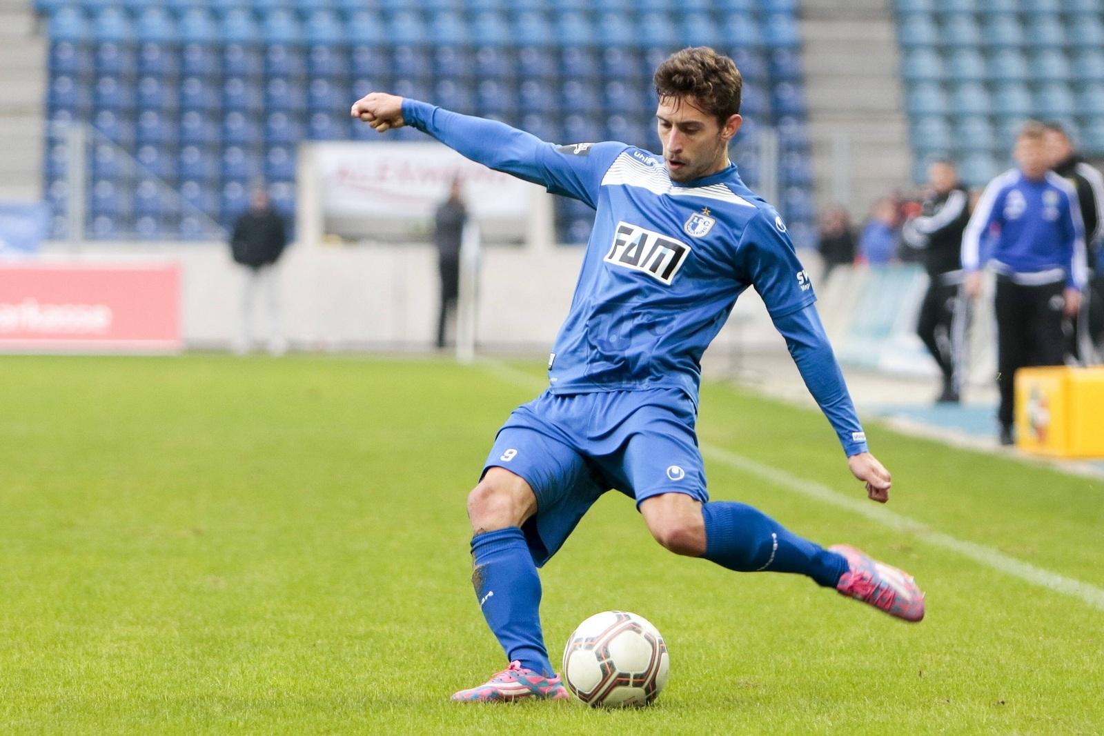 Manuel Farrona Pulido, Offensivmann des 1. FC Magdeburg.