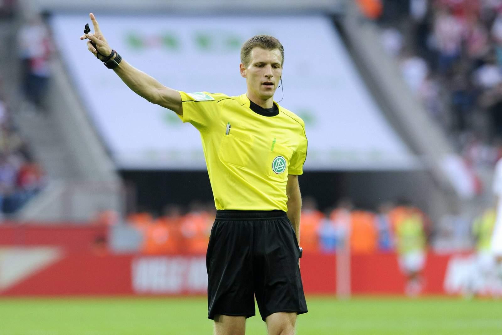 Schiedsrichter Benjamin Cortus