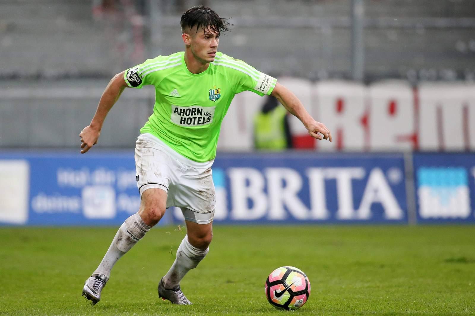 Dennis Mast vom Chemnitzer FC.