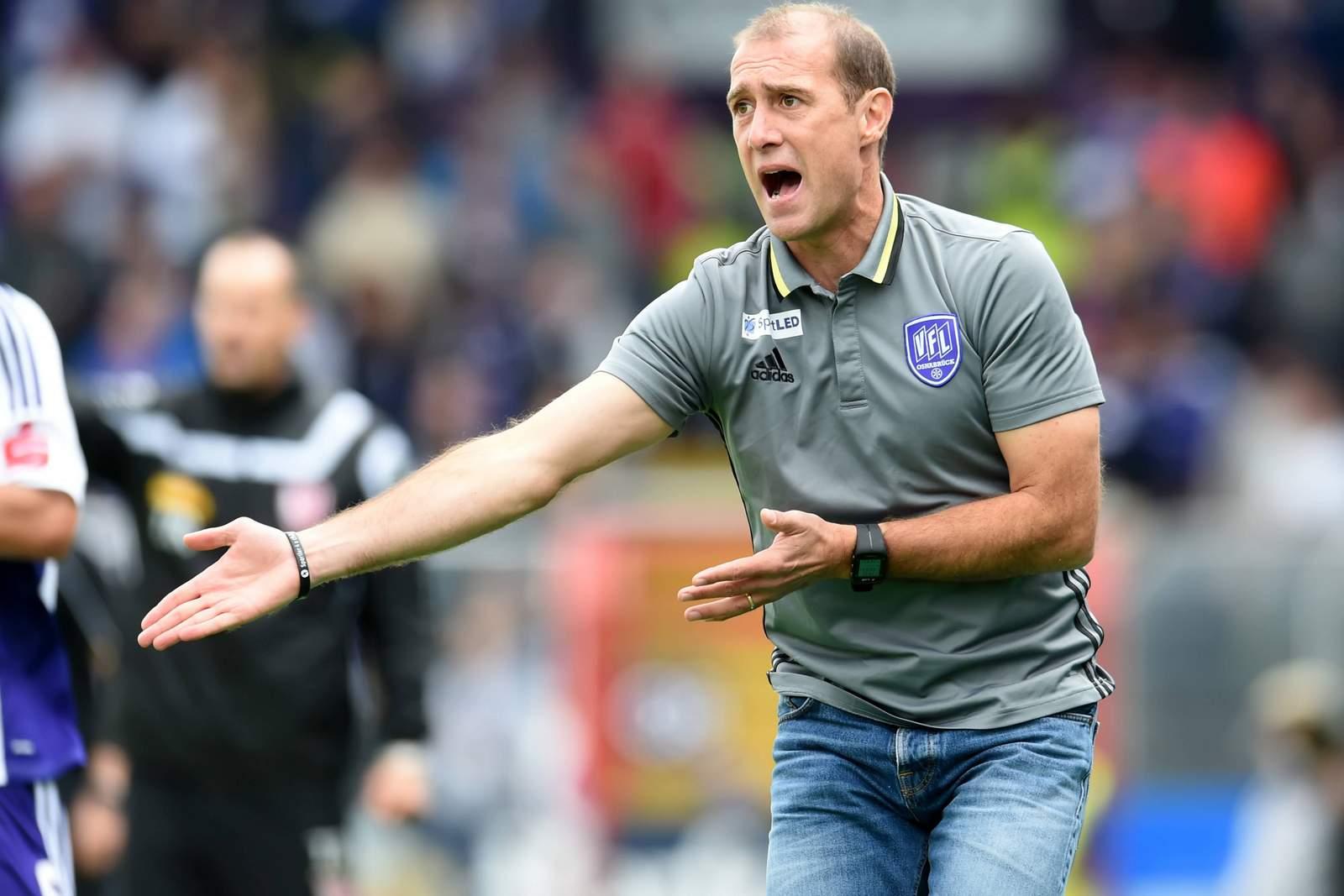 Umstritten: Osnabrücks Trainer Joe Enochs