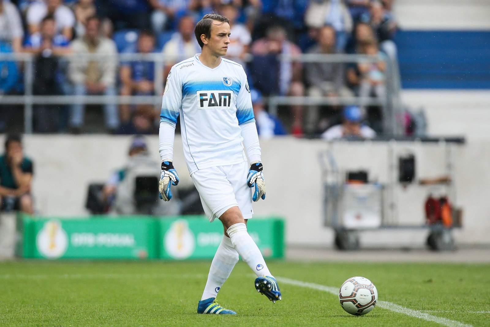 Leopold Zingerle vom 1.FC Magdeburg