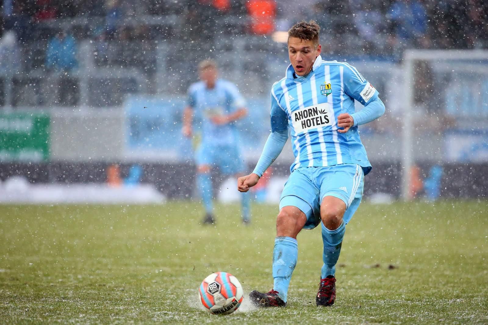 Daniel Frahn vom Chemnitzer FC