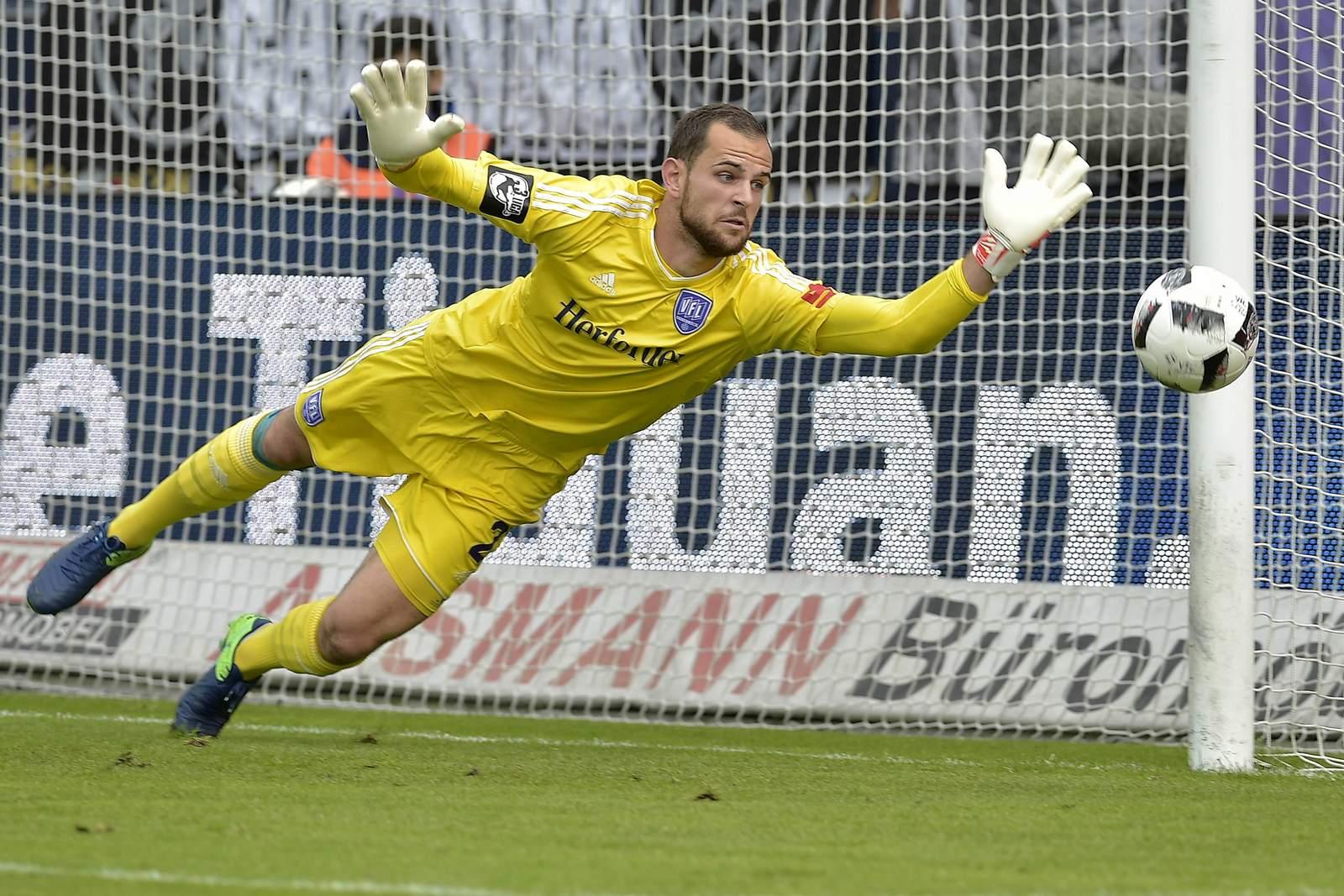Marius Gersbeck, Torwart des VfL Osnabrück.