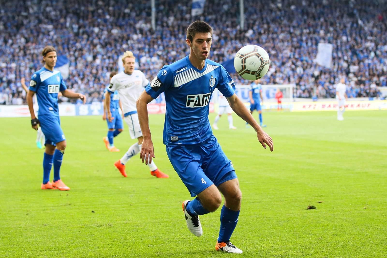 Moritz Sprenger vom 1. FC Magdeburg