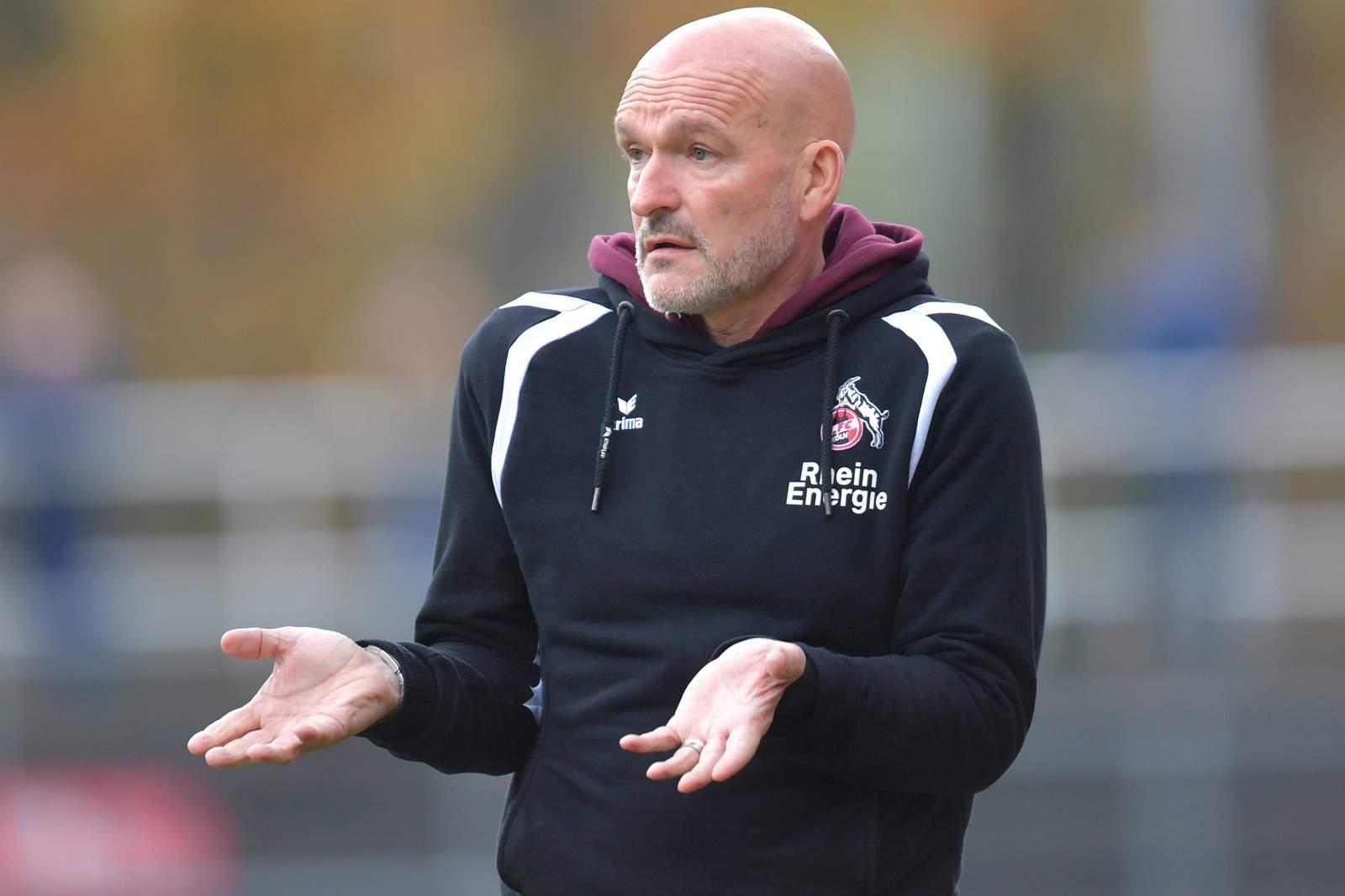 Debüt in Bremen: RWE-Trainer Stefan Emmerling
