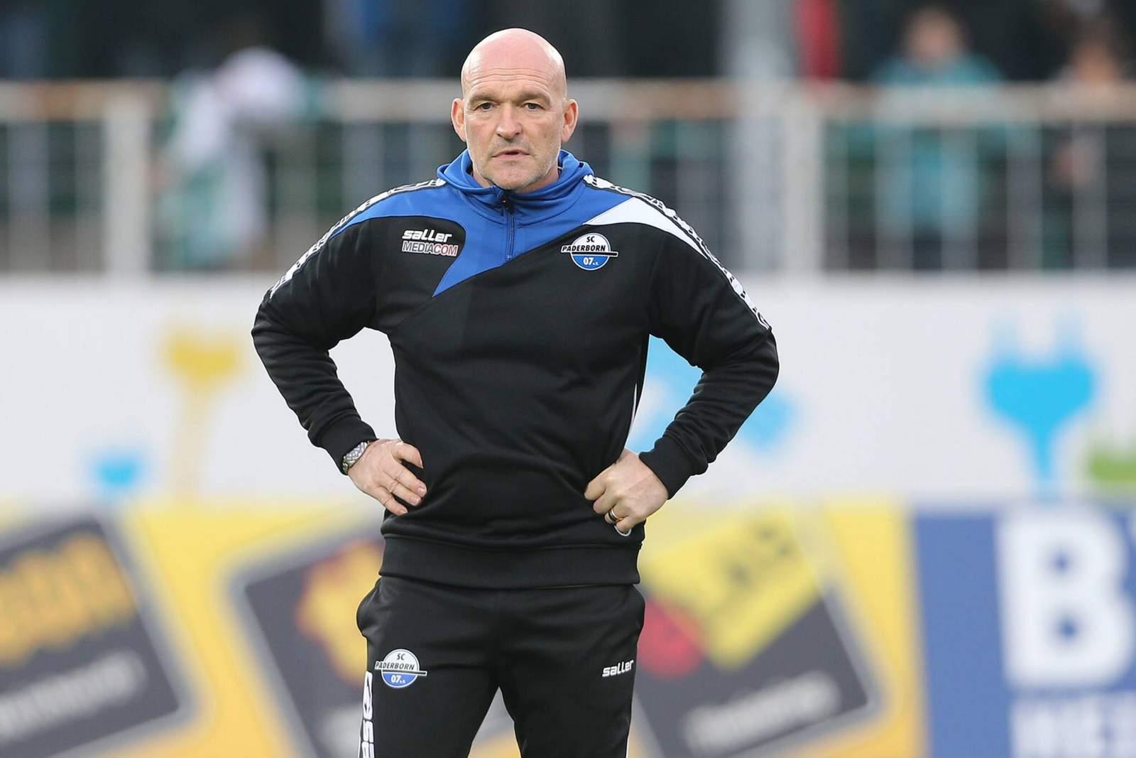 Stefan Emmerling, Coach des SC Paderborn 07.