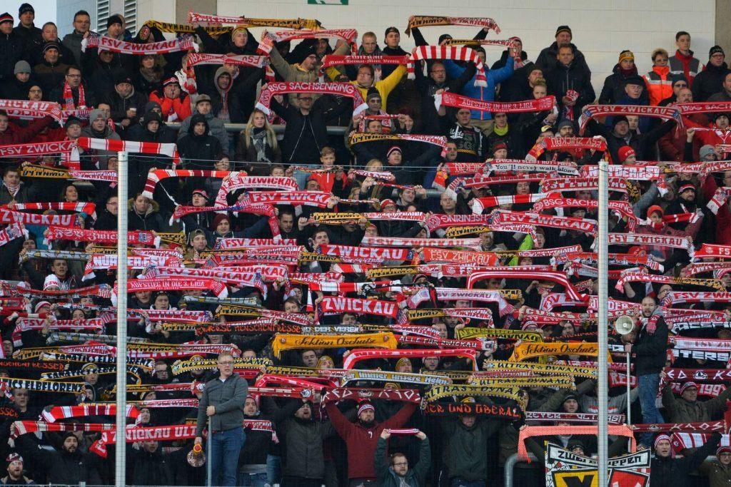 FSV Zwickau: Zahlreiche Fans helfen mit Spenden