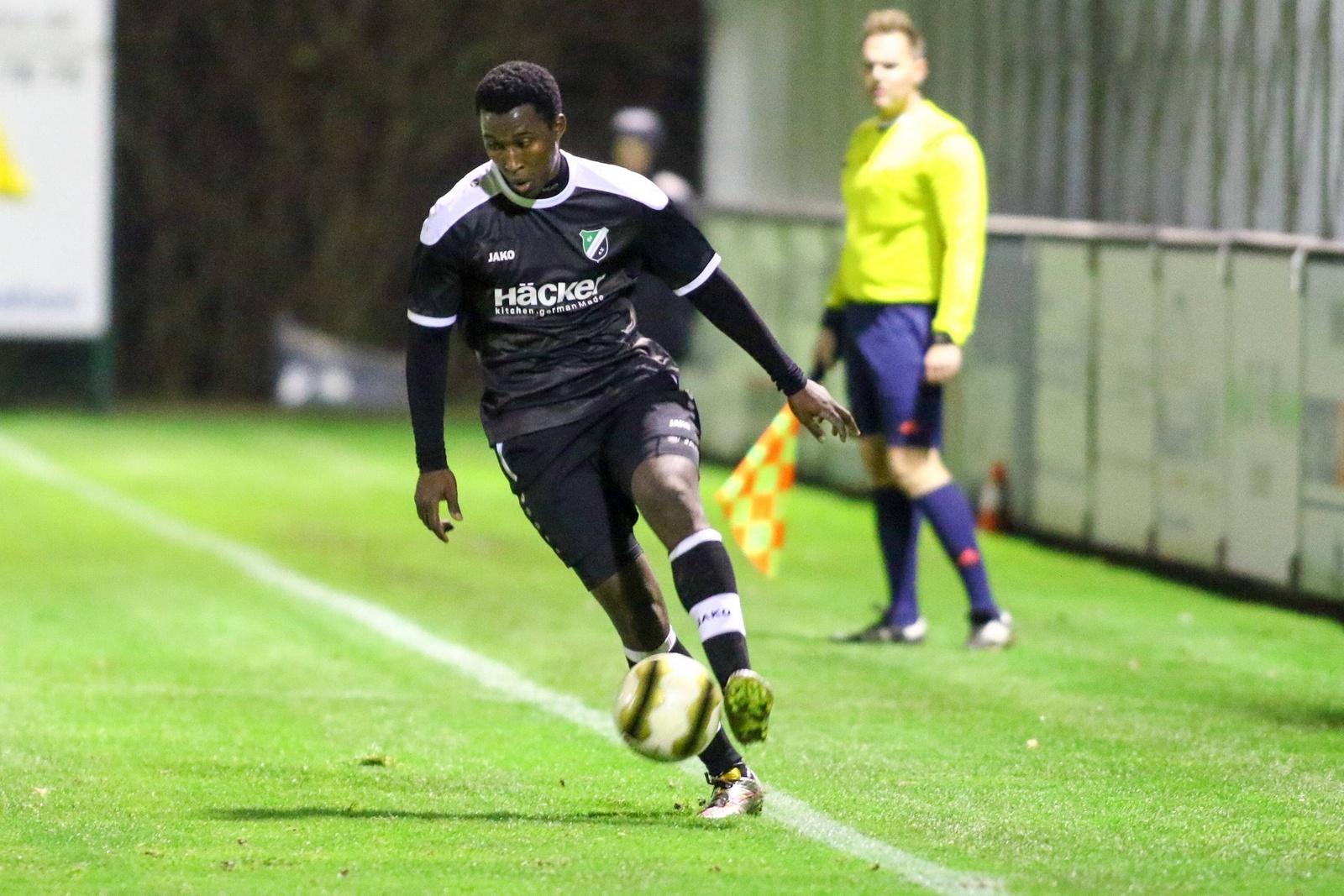 Cellou Diallo, hier noch im Trikot des SV Rödinghausen.