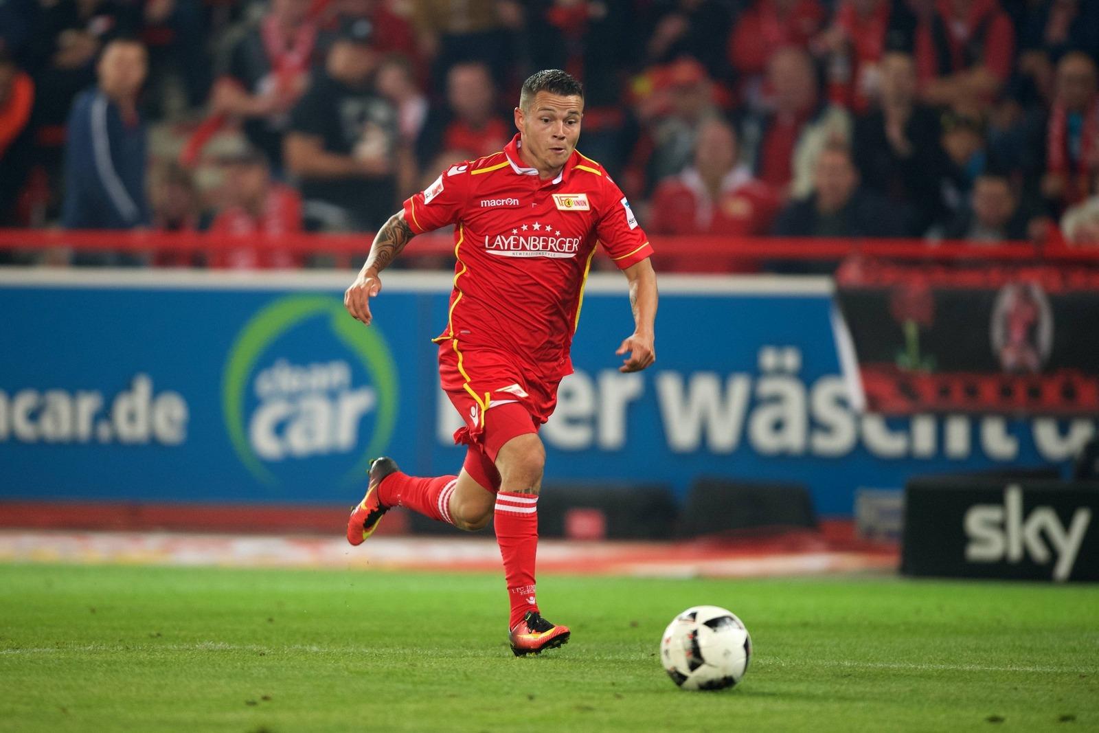 Christopher Quiring spielte bisher für Union Berlin.