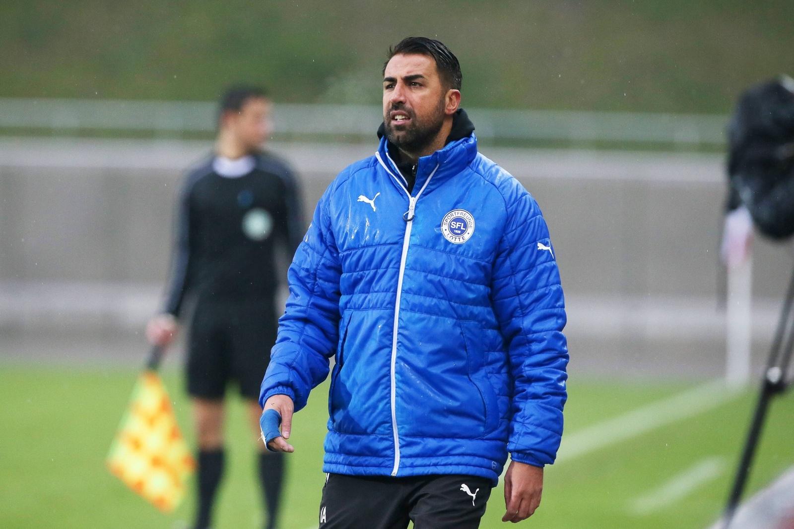 Ismail Atalan, Coach der Sportfreunde Lotte.