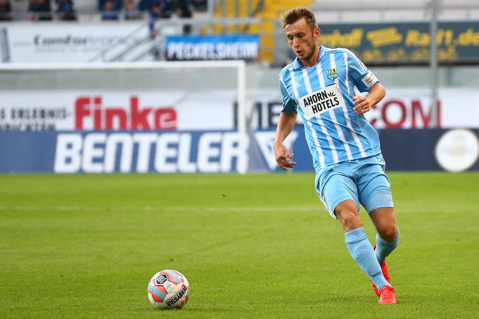 Jan Koch vom Chemnitzer FC