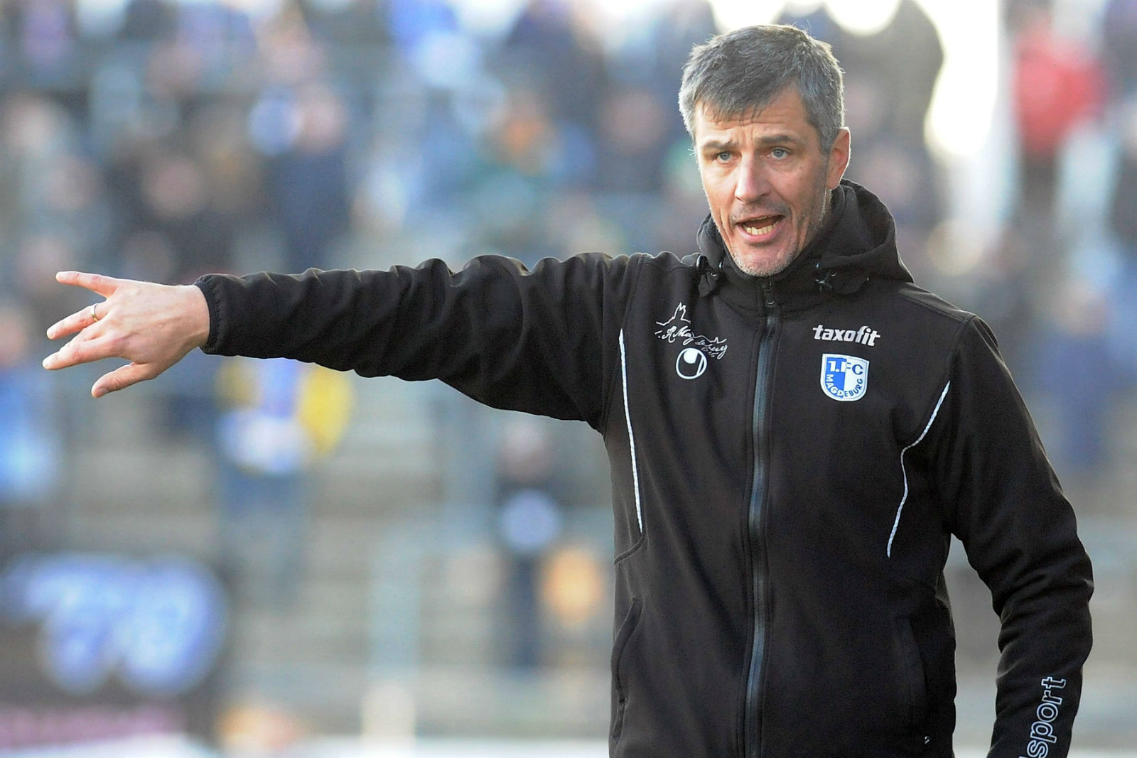 Jens Härtel Trainer vom 1.FC Magdeburg