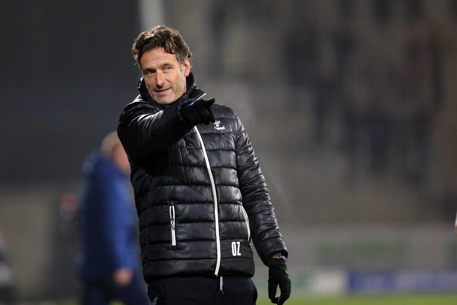 Oliver Zapel als Trainer in Großaspach
