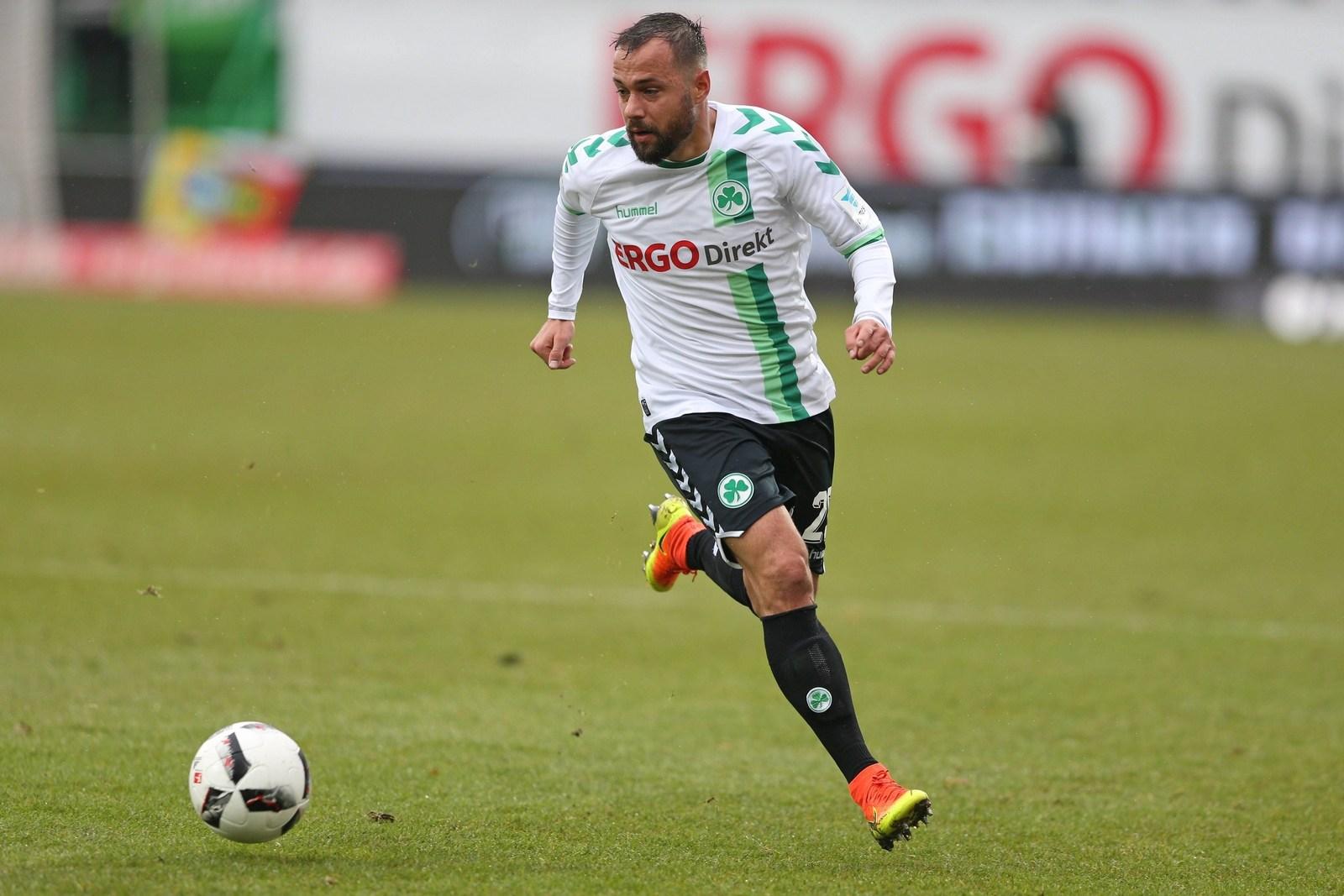 Sebastian Heidinger, hier im Trikot von Greuther Fürth.