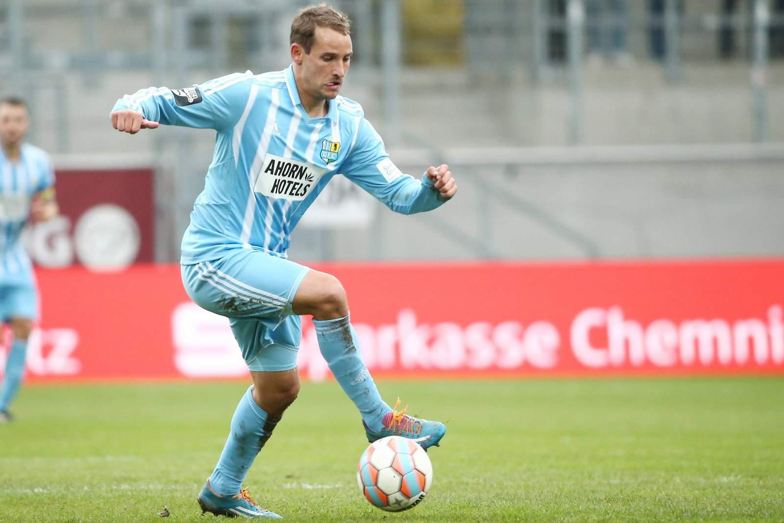 Anton Fink vom Chemnitzer FC