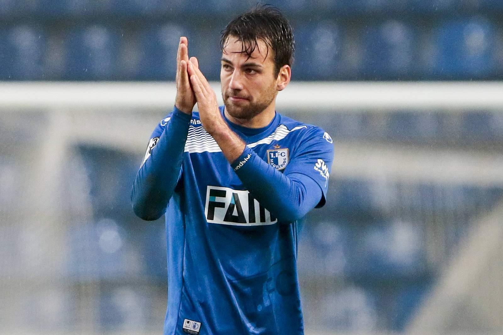Christian Beck vom 1. FC Magdeburg