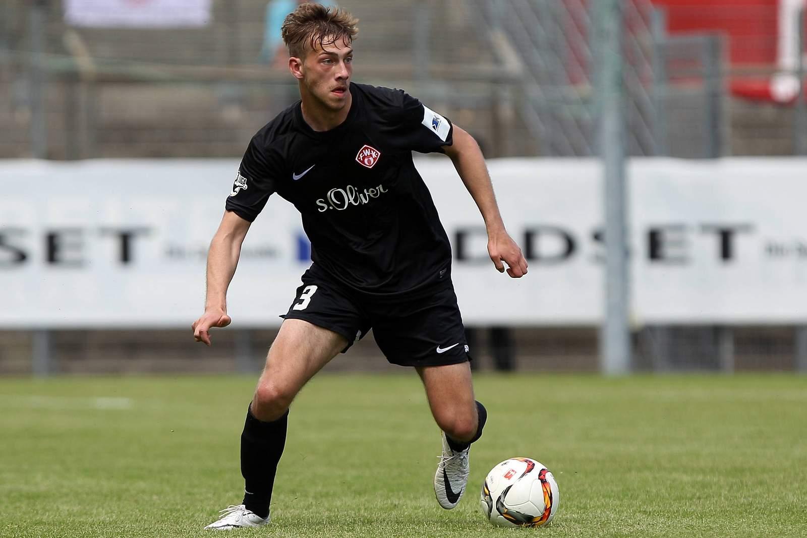 Dominik Nothnagel von den Würzburger Kickers