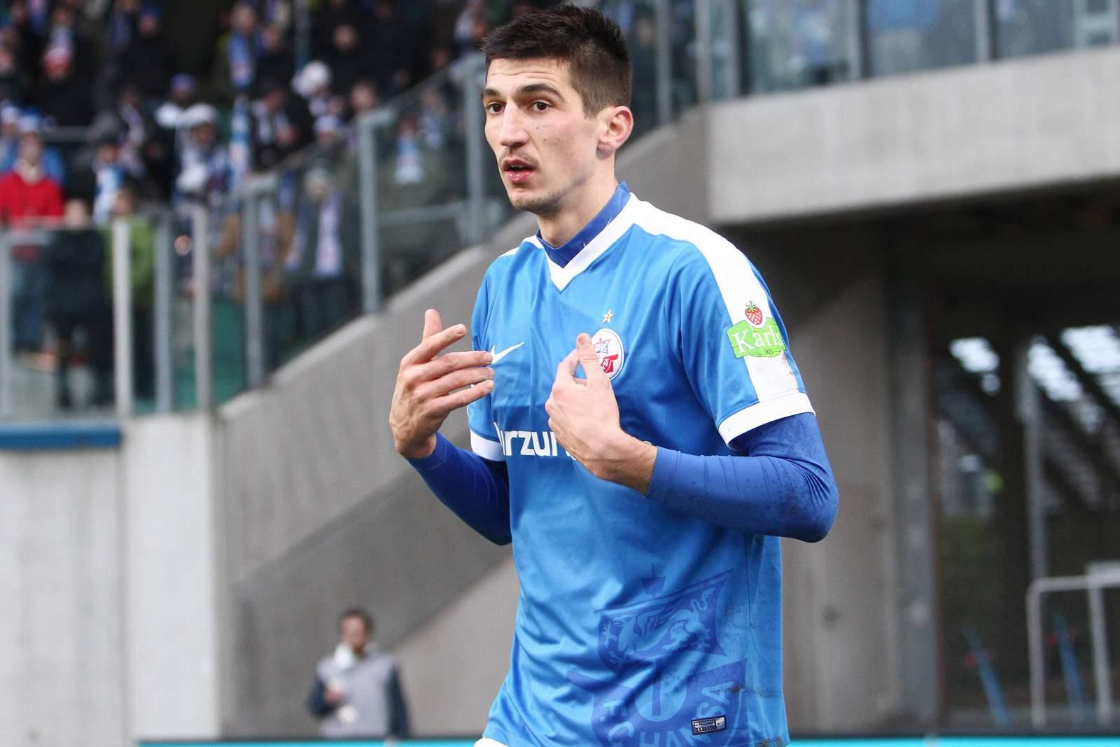 Marco Kofler von Hansa Rostock