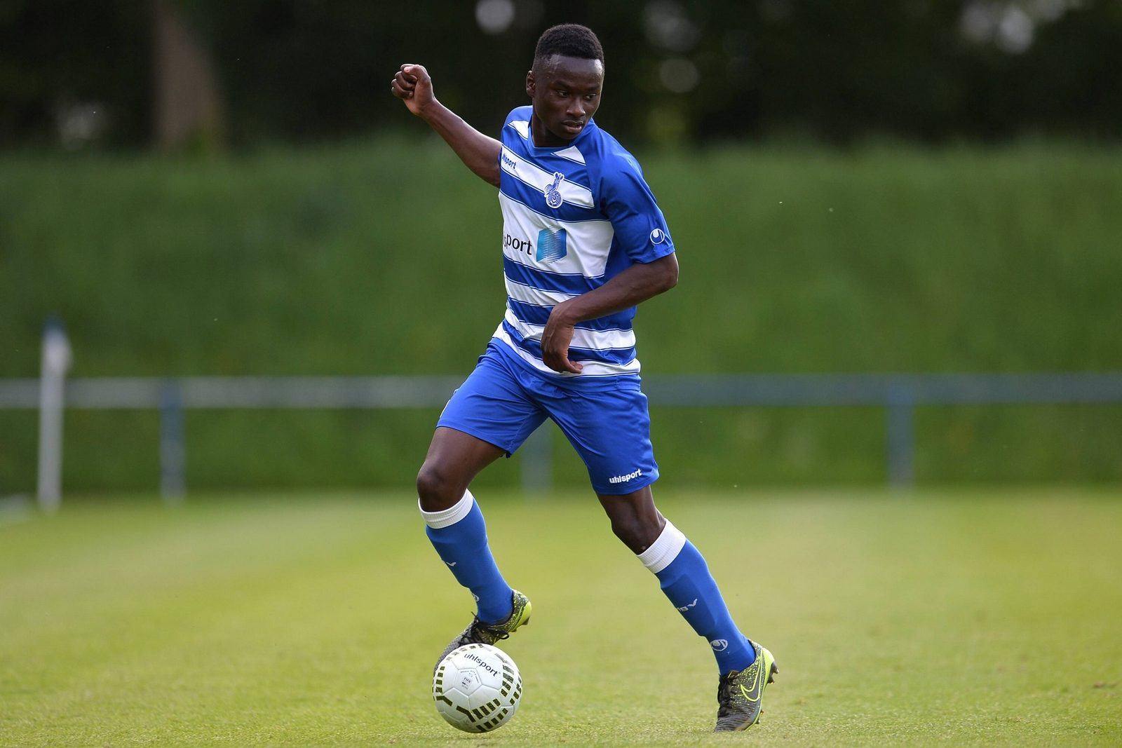 Mohamed Cissé, Talent des MSV Duisburg.