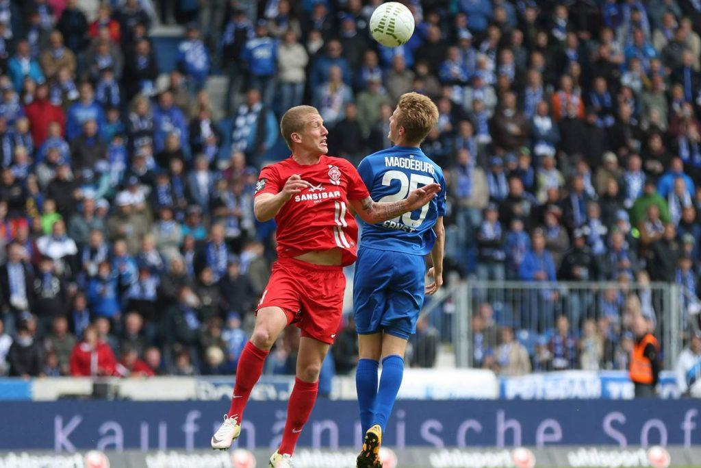 #4 Richard Weil (1.FC Magdeburg). ©Imago