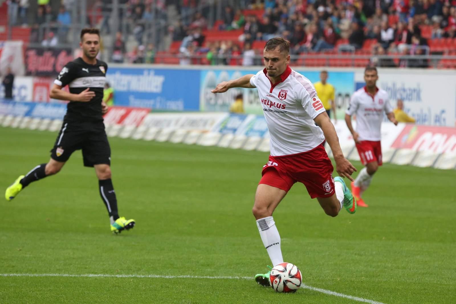 Robert Schick vom Halleschen FC