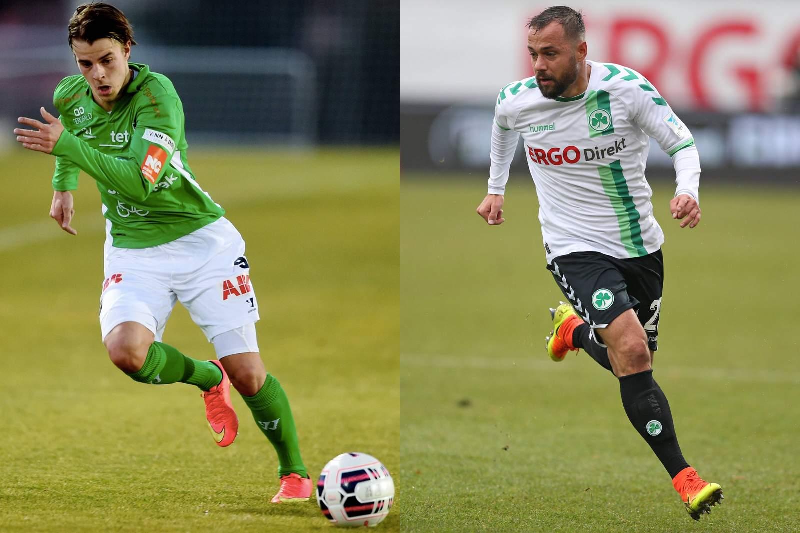 Roope Riski und Sebastian Heidinger
