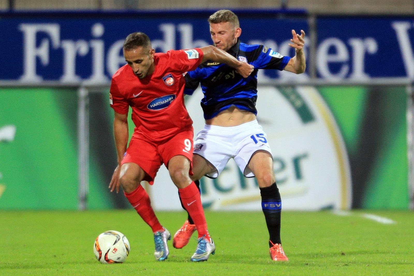Smail Morabit, hier noch im Trikot des 1. FC Heidenheim.