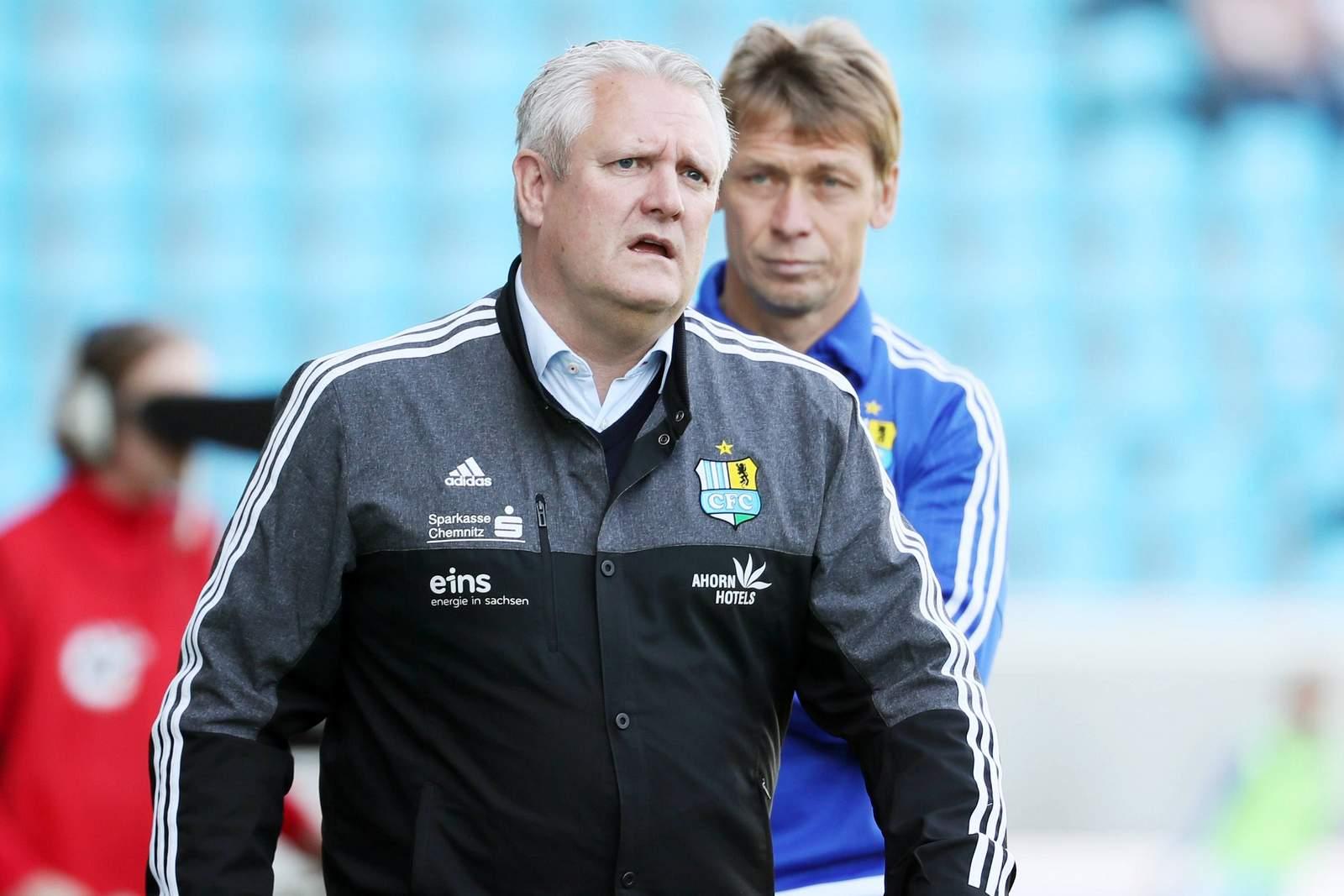 Stephan Beutel und Sven Köhler wollen mit Chemnitz aufsteigen.
