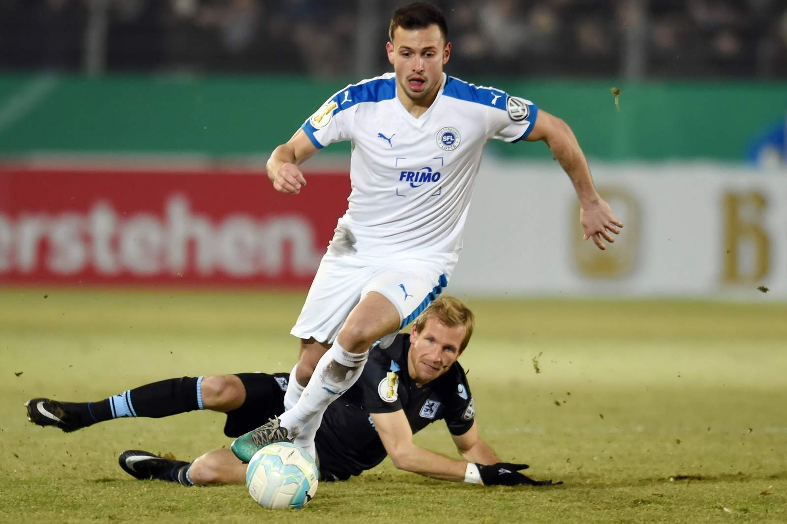 Alexander Langlitz, Spieler der Sportfreunde Lotte