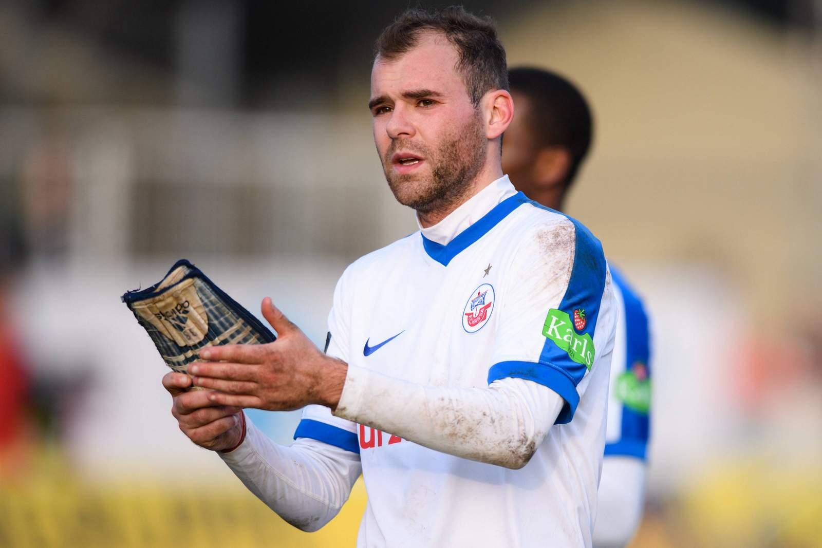 Amaury Bischoff Mittelfeldspieler FC Hansa Rostock