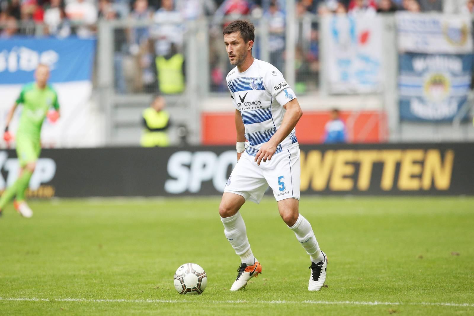 Branimir Bajic vom MSV Duisburg