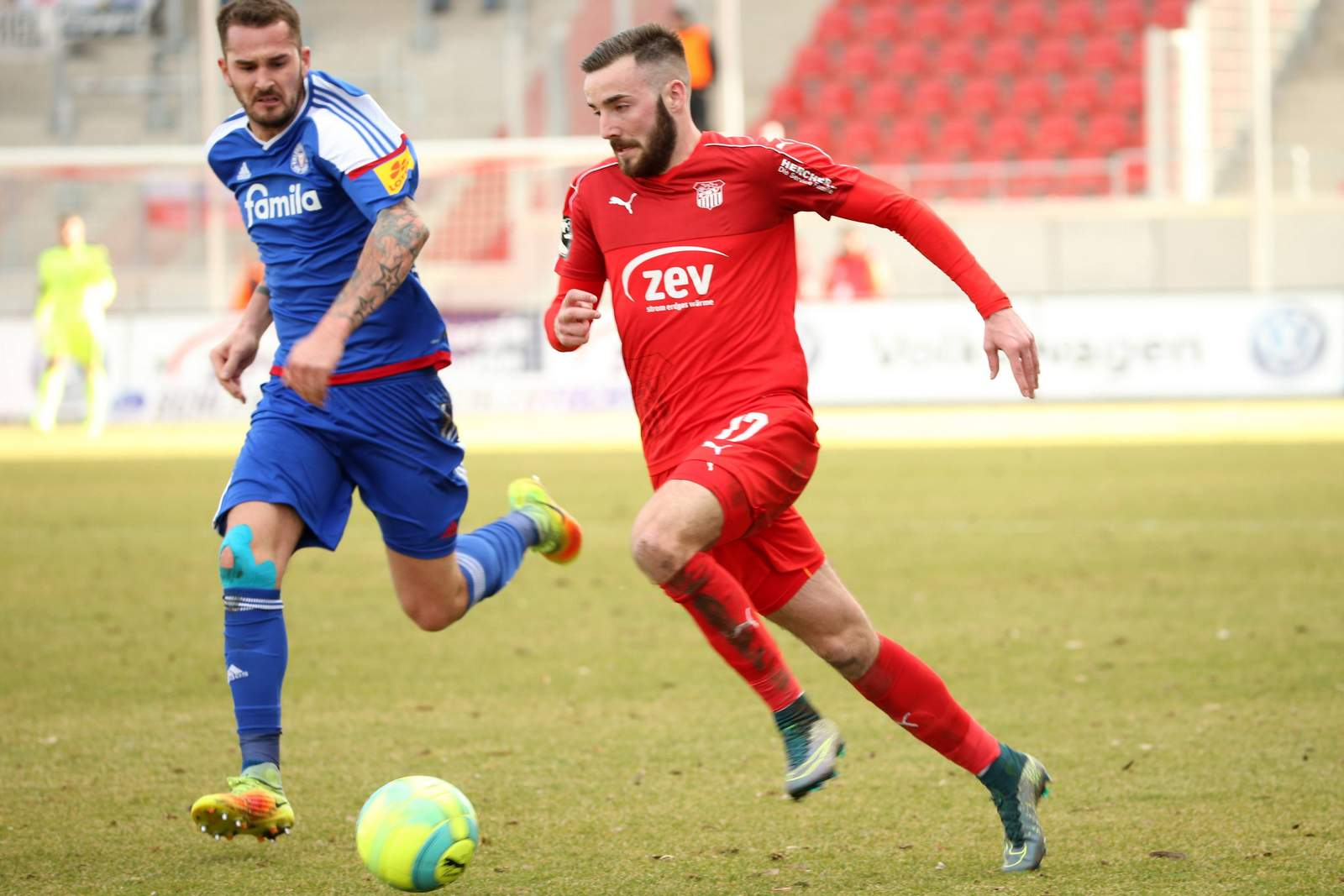 Morris Schröter war beim FSV Zwickau zuletzt häufiger gefragt als noch in der Hinrunde.