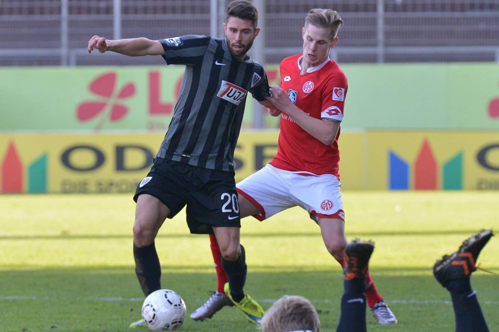 Philipp Hoffmann, Spieler vom SC Preußen Münster