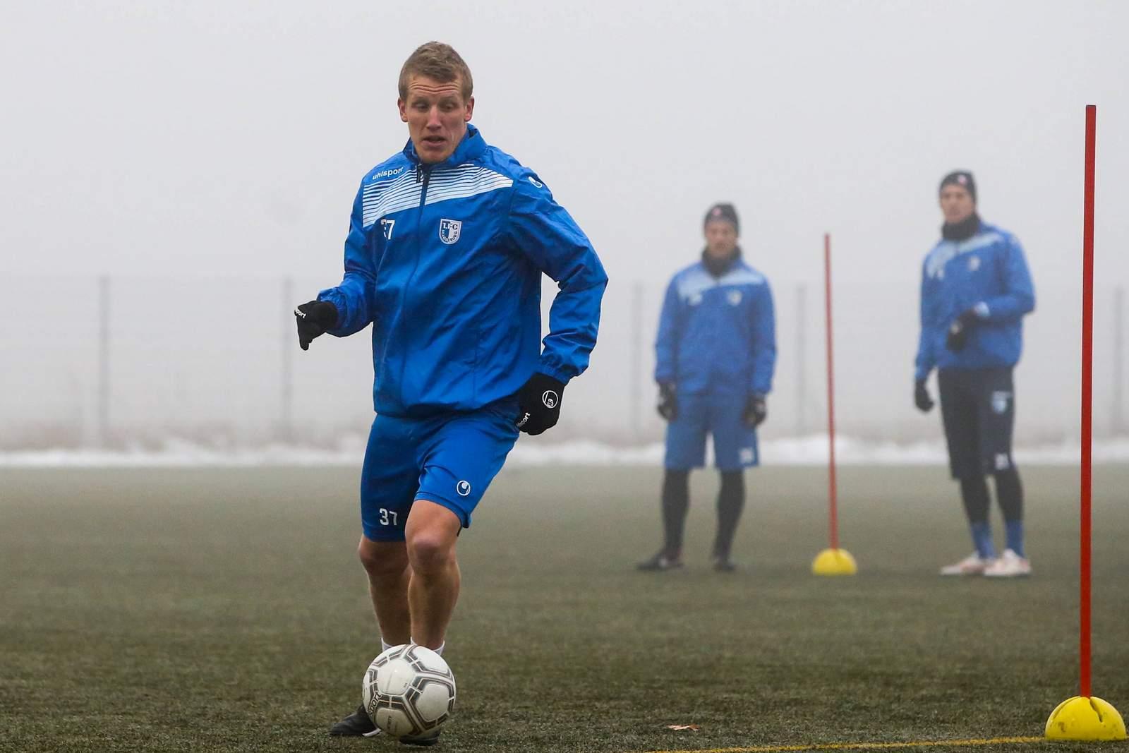 Richard Weil, Abwehrspieler beim 1. FC Magdeburg