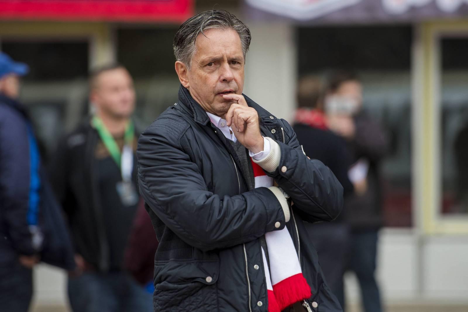 Muss Kritik einstecken: Erfurts Präsident Rolf Rombach