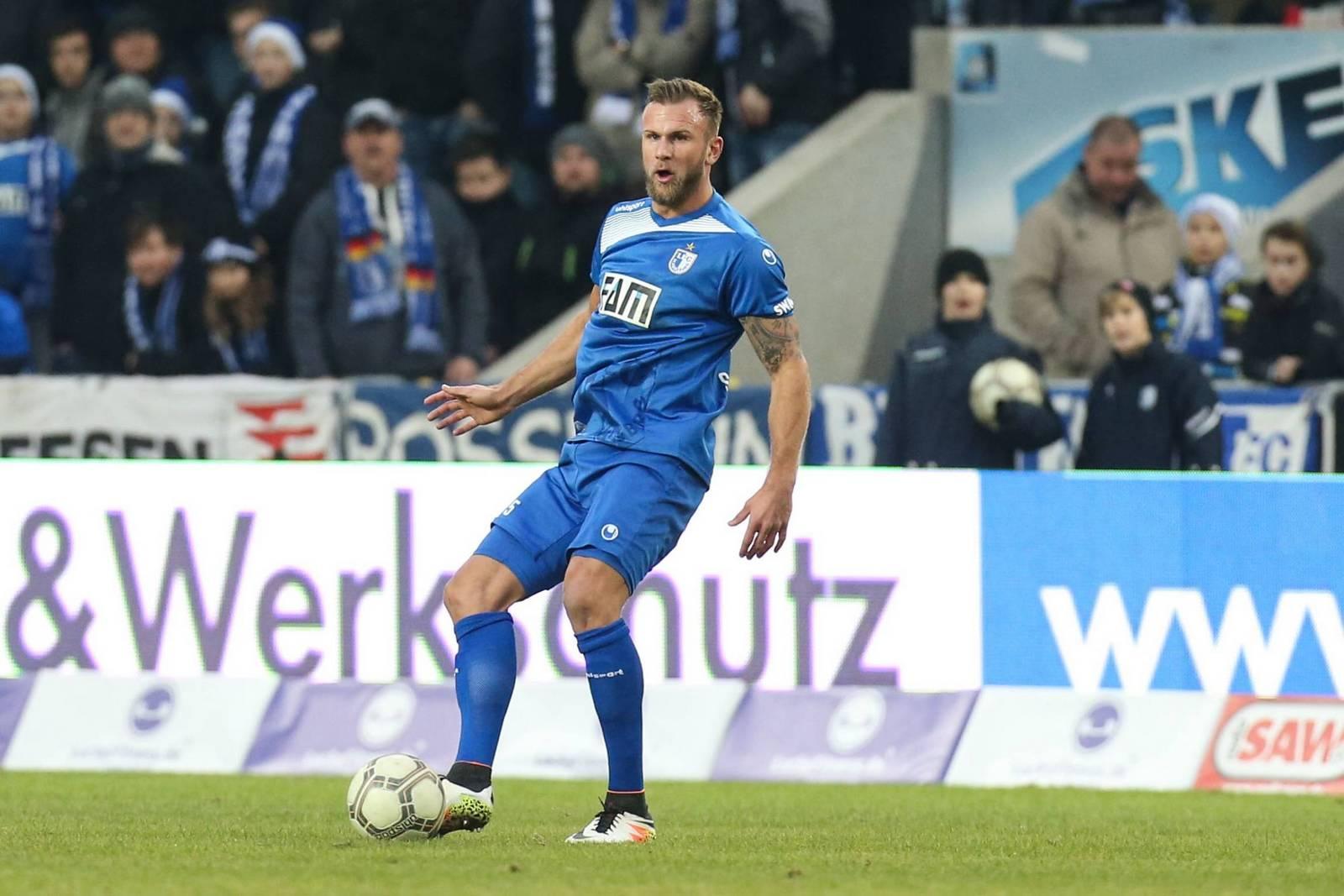 Felix Schiller im Trikot des 1. FC Magdeburg