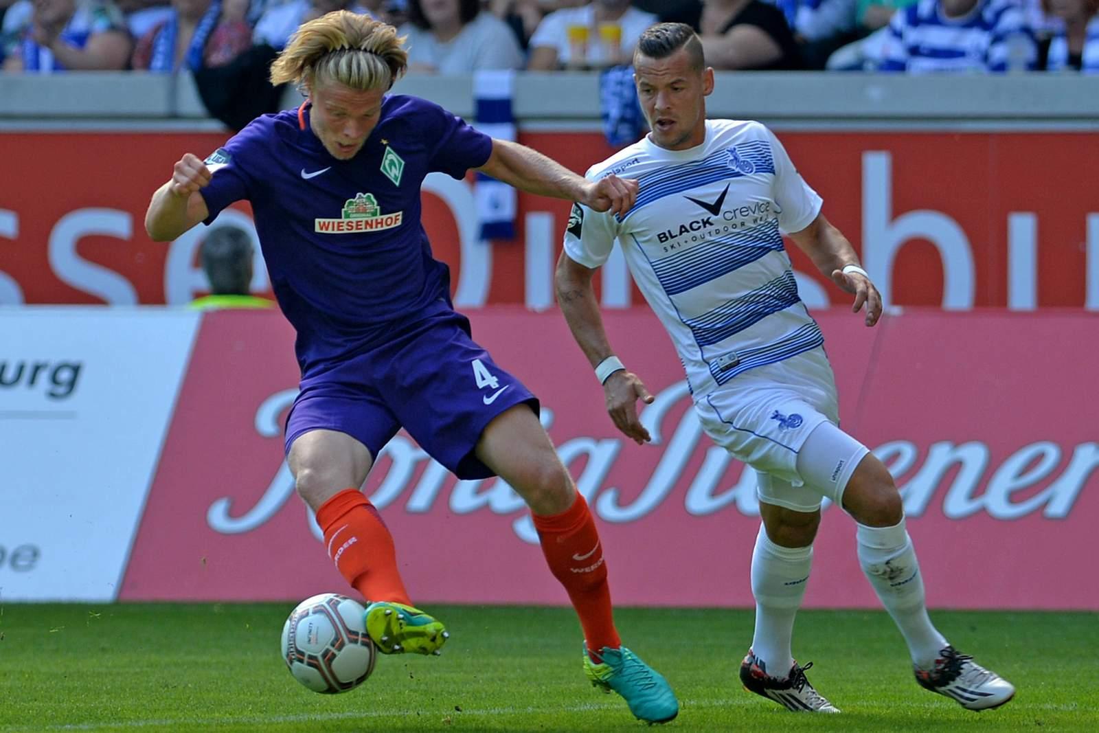 Jesper Verlaat vom SV Werder Bremen II