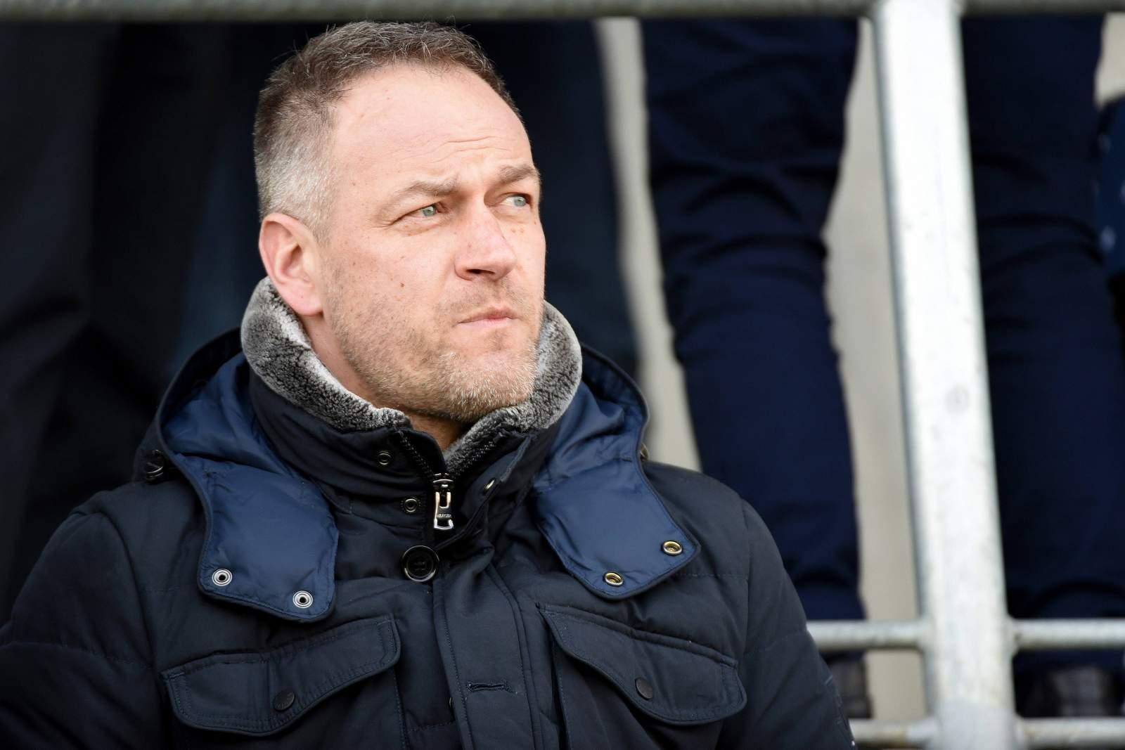 Sucht überall nach Kandidaten für Hansa: Sportvorstand René Schneider