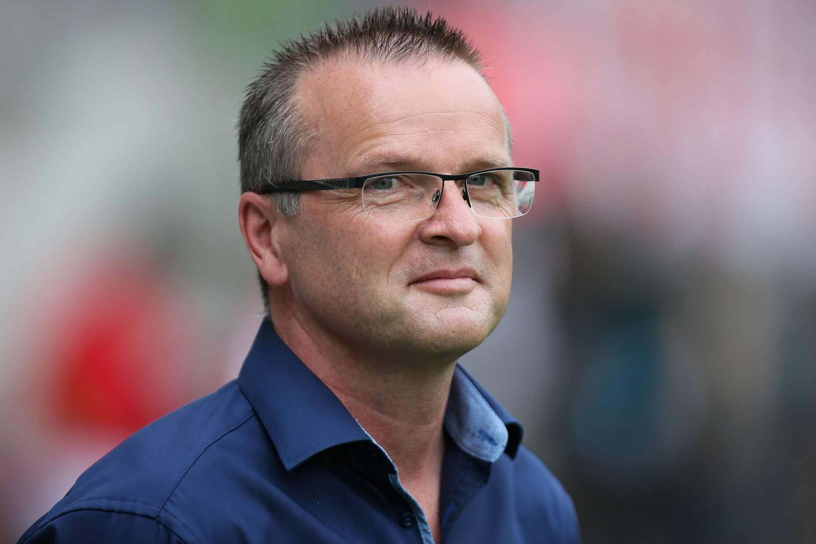 Der Sportdirektor des Halleschen FC Stefan Böger