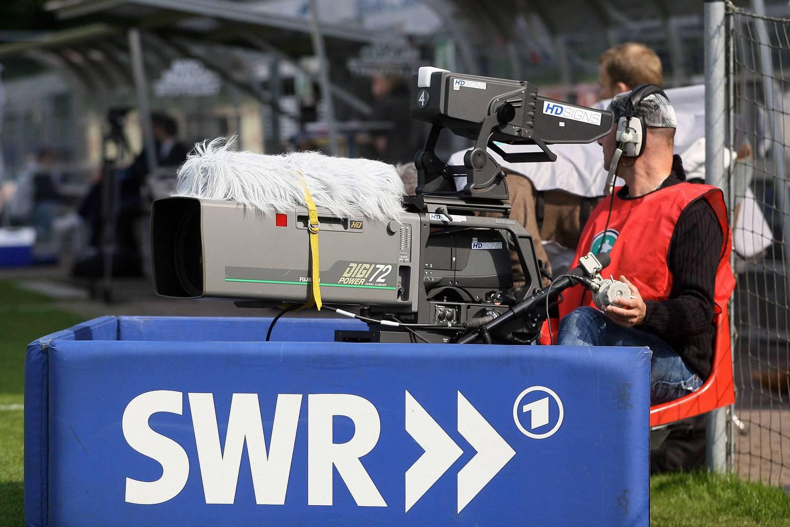 TV Kamera des SWR.