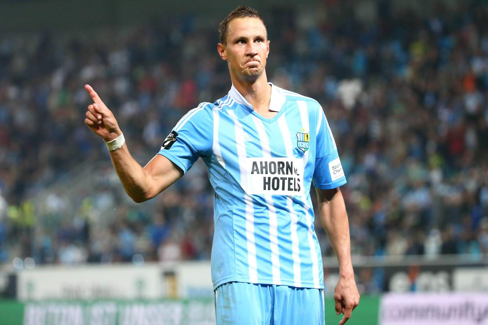 Tim Danneberg vom Chemnitzer FC