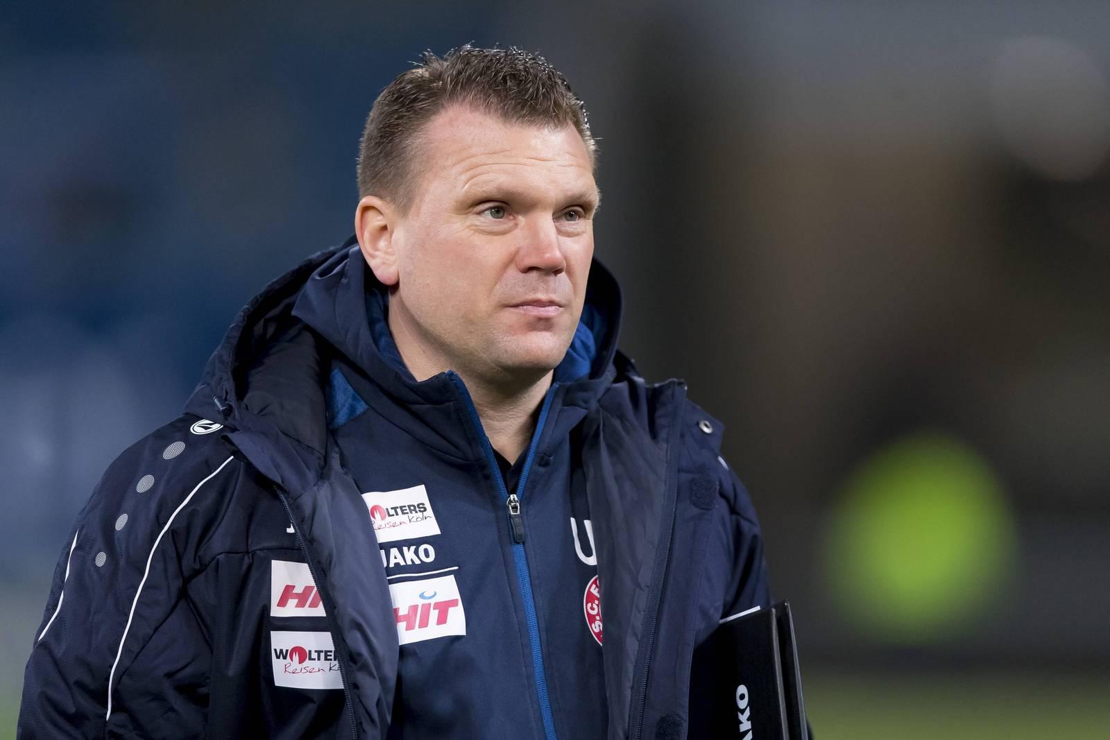 Sieht Defensivprobleme: Fortuna-Coach Uwe Koschinat